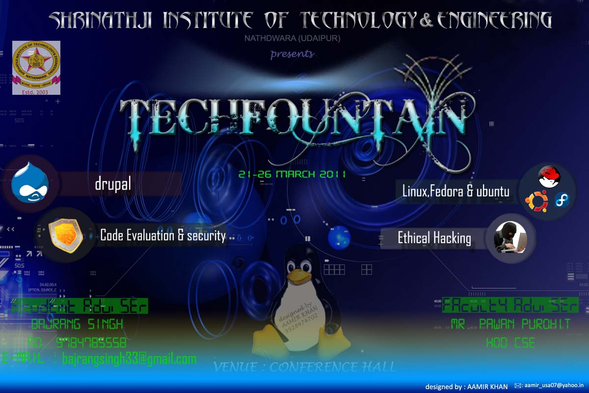 banner for SIT techfest